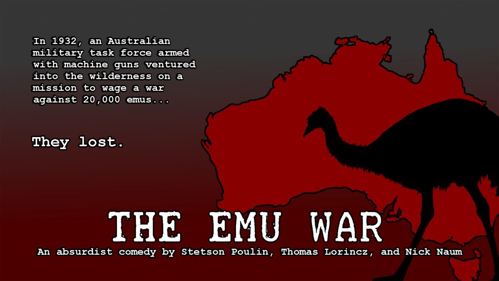 THE EMU WAR NEXTFEST POSTER SIZED