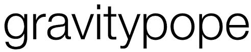 Gravity Pope logo
