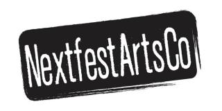 The Nextfest Arts Company logo.